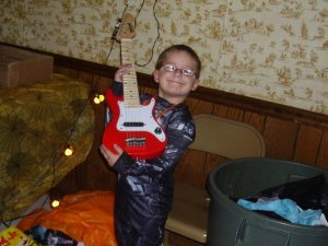 A Boy and His Guitar ...